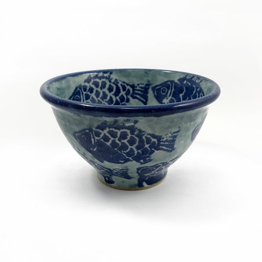 Fish Motif Soup Bowl