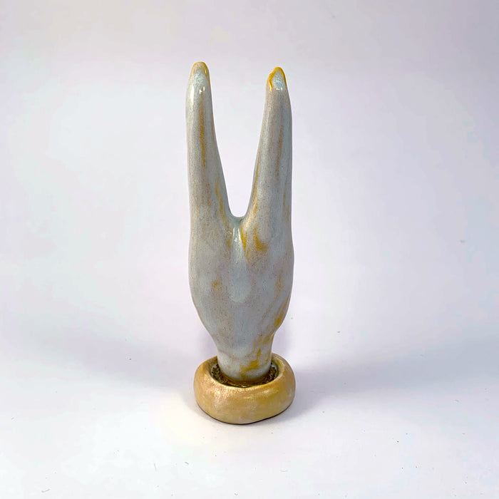 Ceramic Headstand Ring Holders