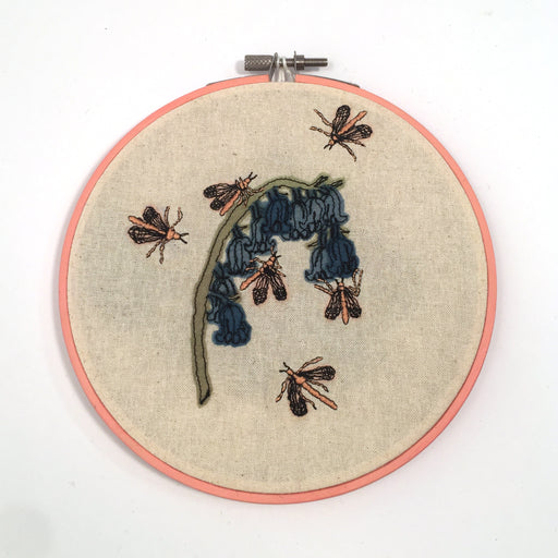 Medium Embroidered Wall Hanging by Julianna Schertzer