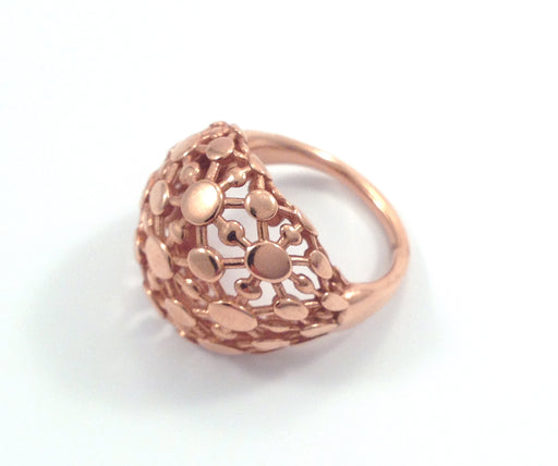 Rose Gold Circles Ring