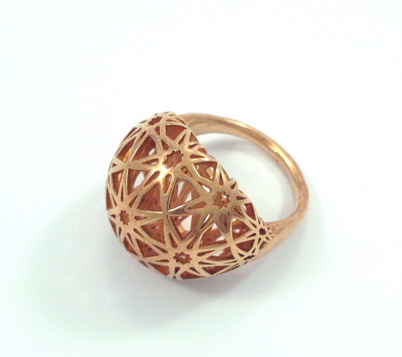 Gold Star Web Ring