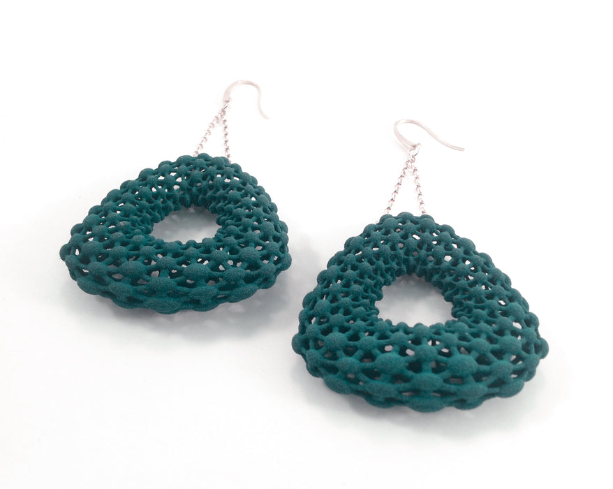 Triangle Lace Earrings