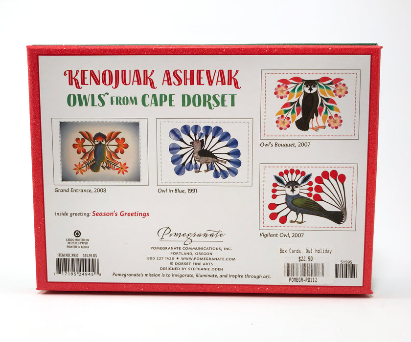 Kenojuak Ashevak Holiday Card Assortment