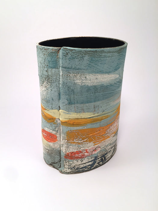 Landscape Vase by Lesley McInally