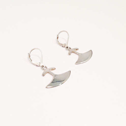 Medium Ulu Earrings by Mathew Nuqingak