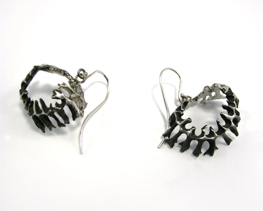 Herringbone Earrings by Patrycja Zwierzynska