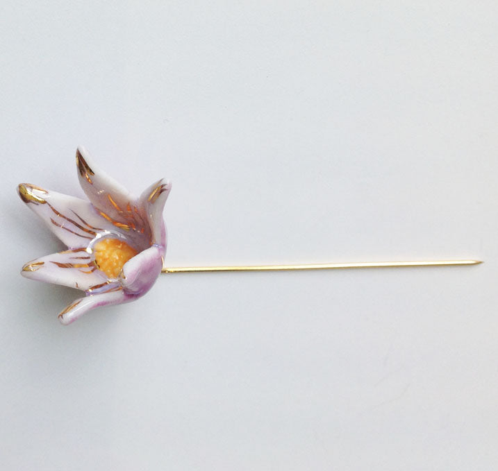 Prairie Crocus Pin