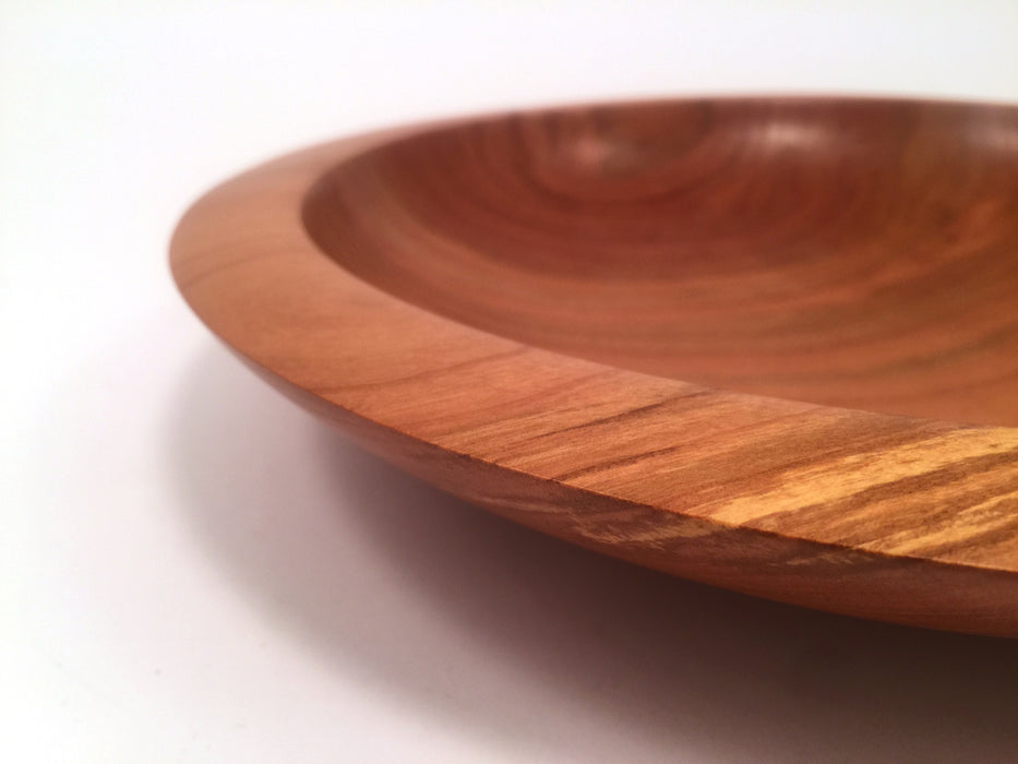 Shallow Sour Cherry Bowl by Ray Prince