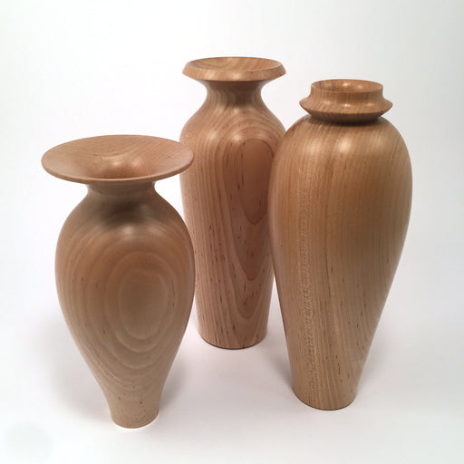 Maple Vases by Rudolph Schafron