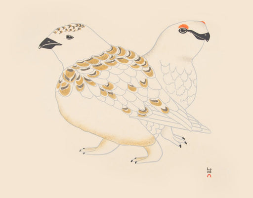 Rock Ptarmigan by Kananginak Pootoogook