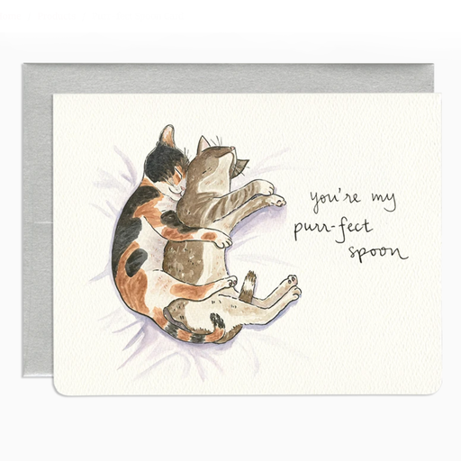 Purr-fect Spoon Card