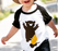 Rock-on Bear Baseball Tee, Toddler