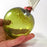 Green Apple Glass Ornaments