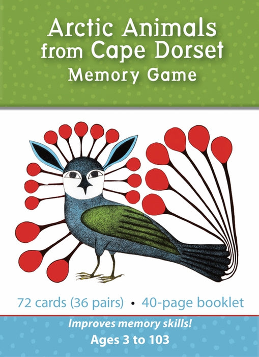 Arctic Animals from Cape Dorset Memory Game