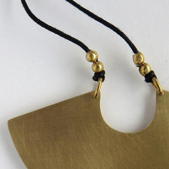 Protector Necklace in Brass