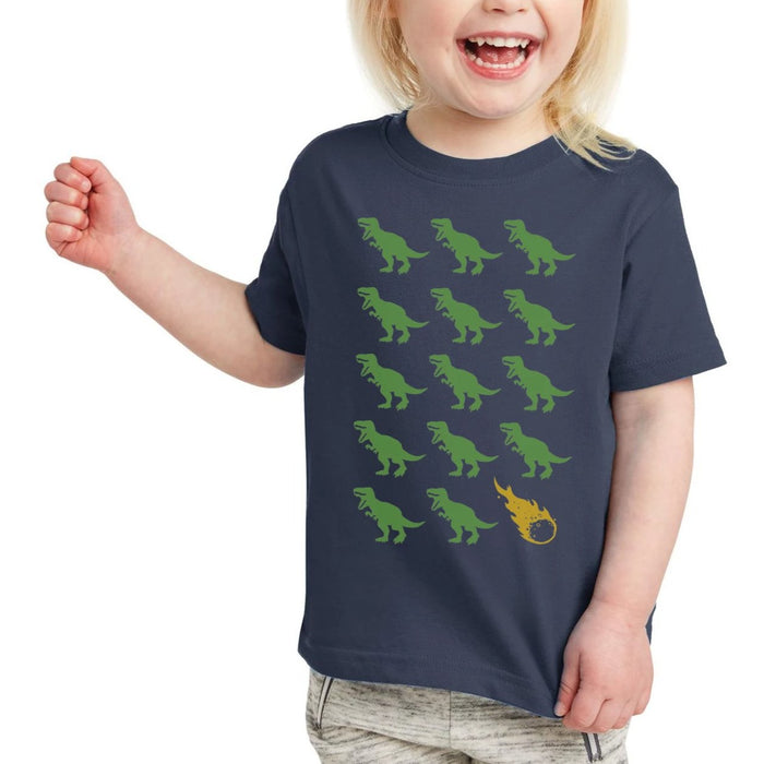 Dino Dino Asteroid! T-Shirt, Toddler