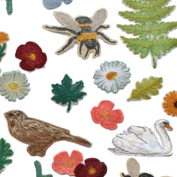 Flora & Fauna Iron On Patches