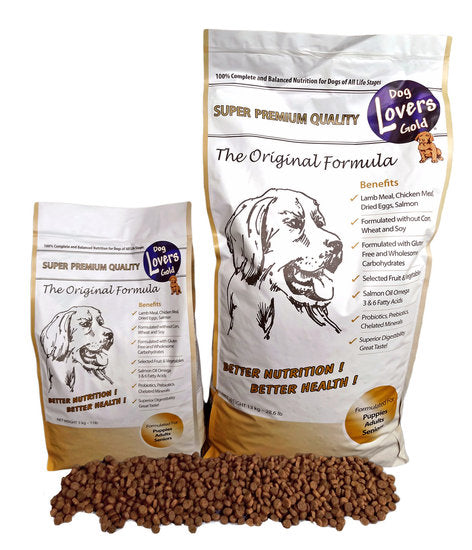 Dog Lovers Gold The Original Formula