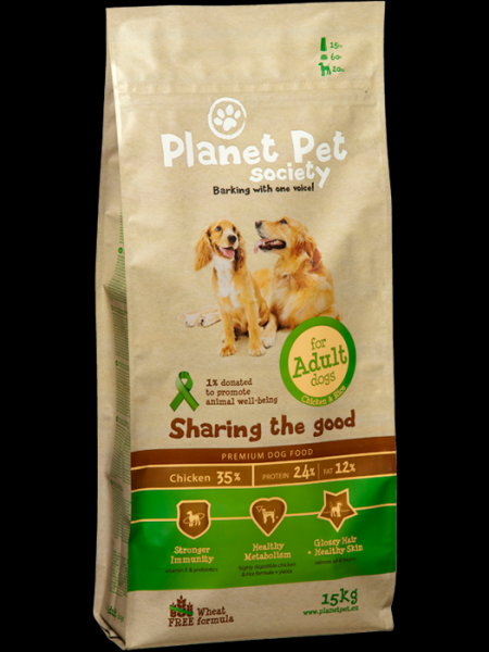 Planet Pet Adult Chicken & Rice
