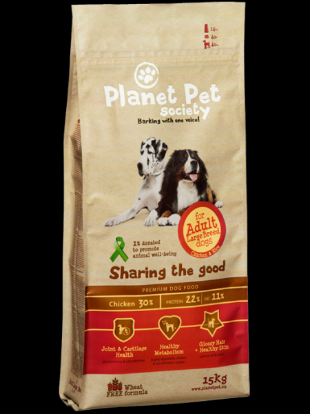 Planet Pet Adult Large Breed Chicken & Rice