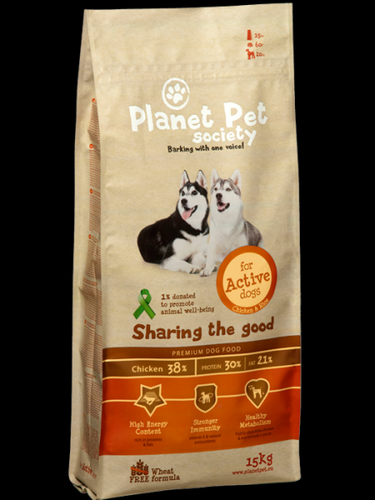 Planet Pet Active Chicken & Rice