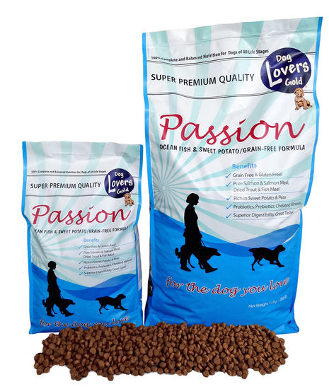 Dog Lovers Gold Passion Ocean Fish & Sweet Potato