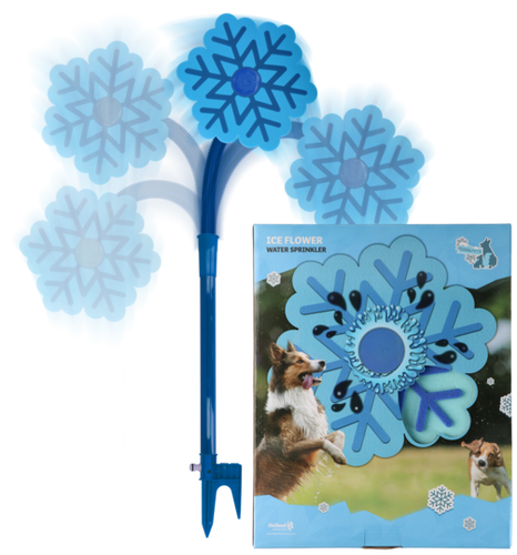 CoolPets Ice Flower Sprinkler / ijs Bloem Sproeier