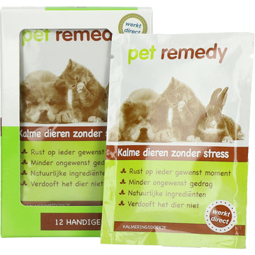 PET REMEDY KALMERENDE DOEKJES 12 ST.