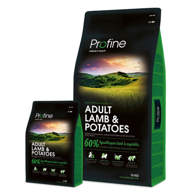 Profine Adult Lamb & Potatoes Hypoallergeen