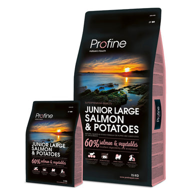 Profine Junior Large Breed Salmon & Potatoes