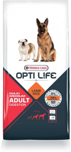 Opti Life Adult Digestion Medium & Maxi (Lam & rice)