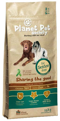 Planet Pet Senior chicken & rice