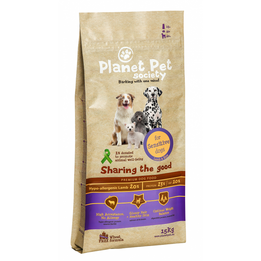 Planet Pet Sensitive Lam & Rijst
