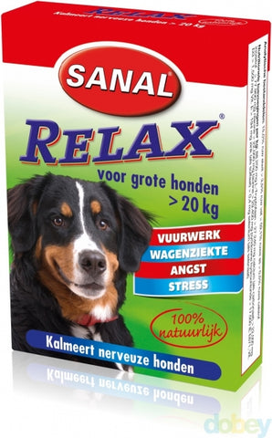 Sanal Dog Relax Kalmeringstablet Large