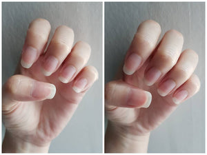 Nailed It Nail + Cuticle Oil before and after result - Hand