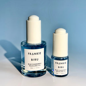 BIRU Blue Chamomile Squalane 30ml and 10ml