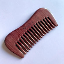 FRANKIE Purpleheart Wood Comb
