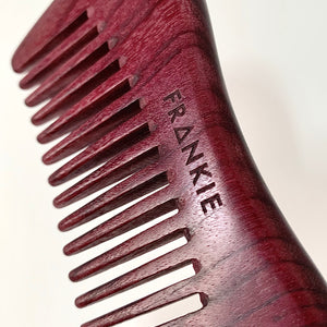 PURPLEHEART WOOD COMB