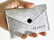 Minimalist Felt Pouch Small - Front View