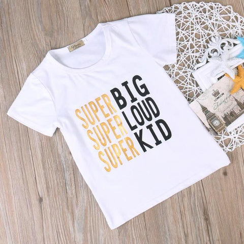 T-shirts super kid
