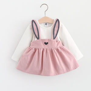 Robe lapin rose
