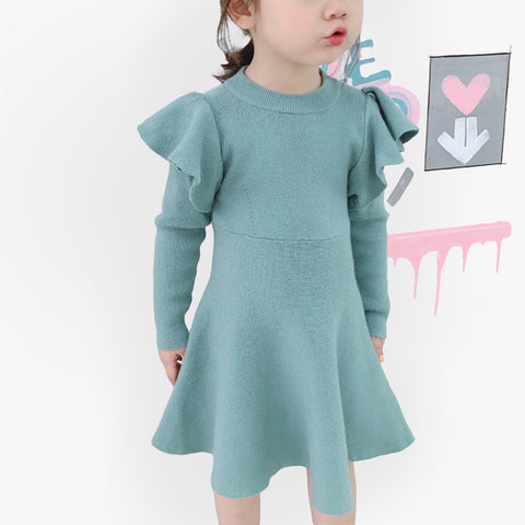 robe fille hiver