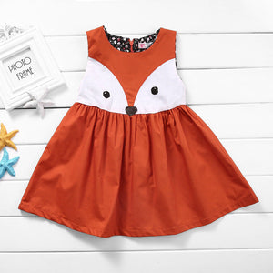 robe fille orange