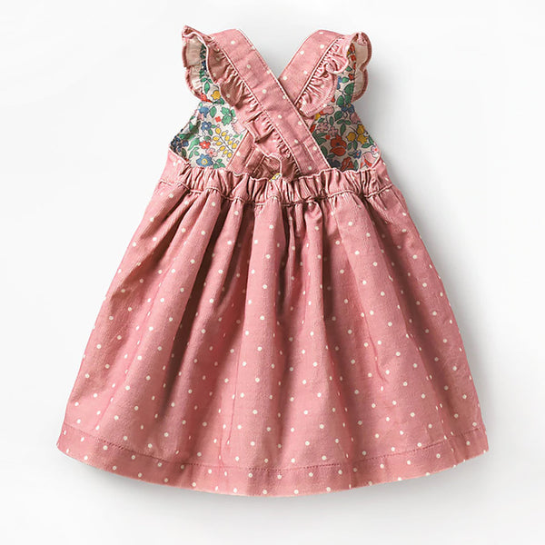 Robe enfant velours - Hérisson