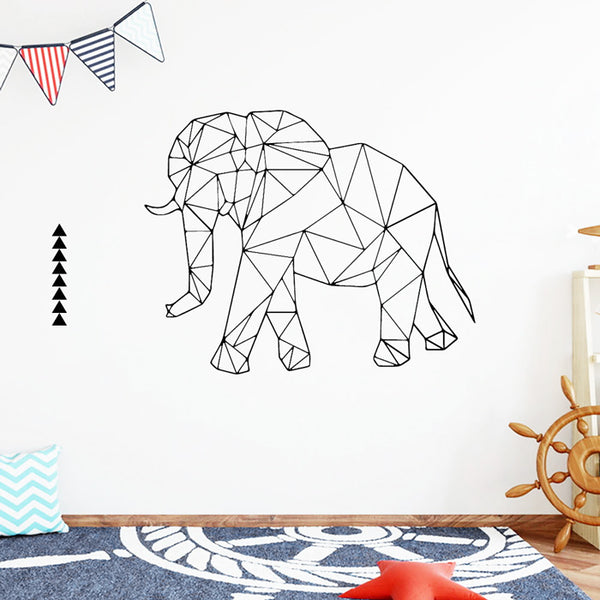 stickers enfant elephant