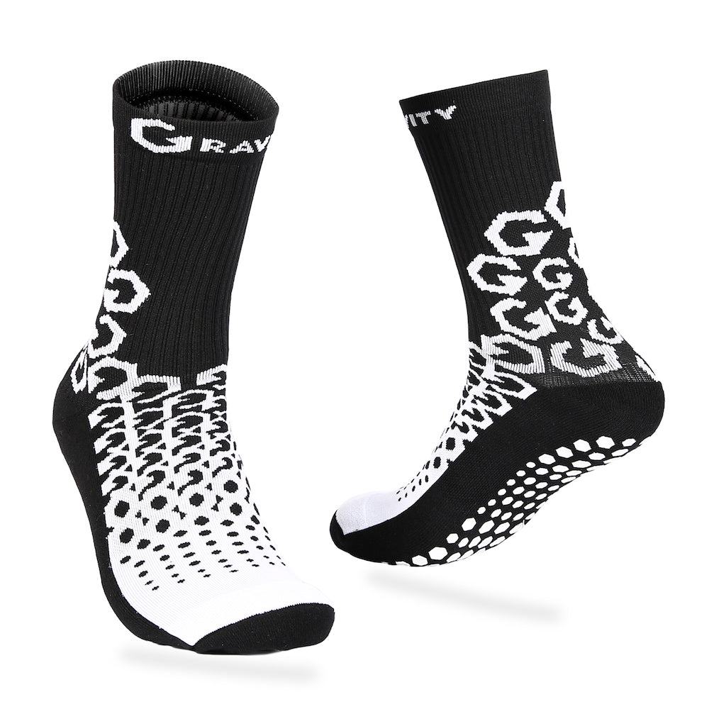 Gravity Performance Grip Socks | With Ankle Support - Gravity Grip Gear