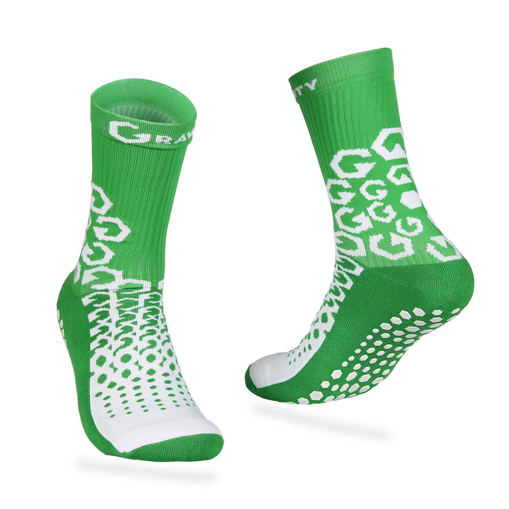 Gravity Performance Grip socks Green