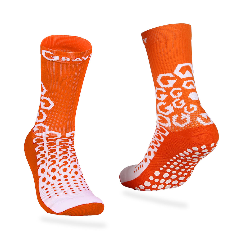 Gravity Performance Grip socks Orange