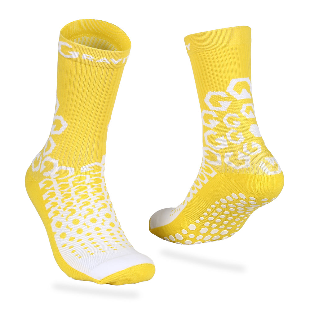 Gravity Performance Grip socks Yellow