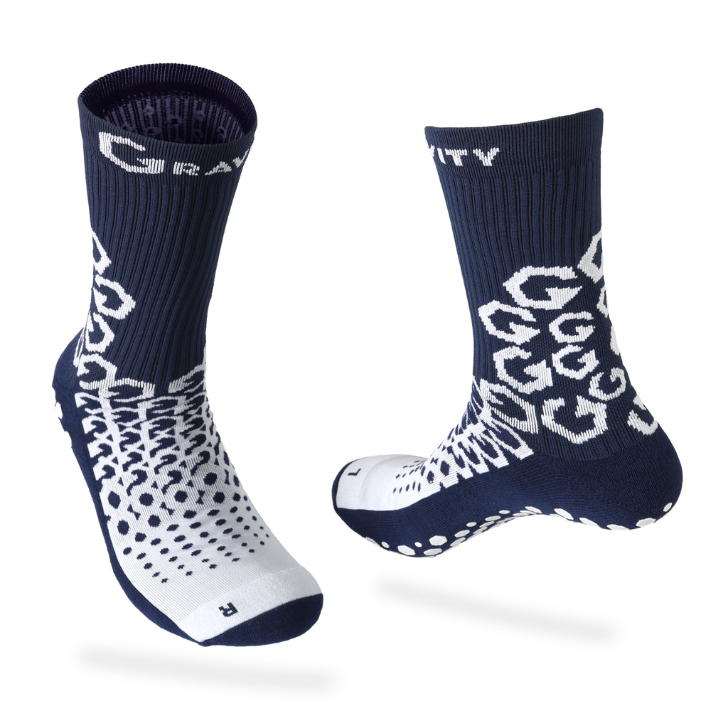 Gravity Performance Grip socks with ankle support